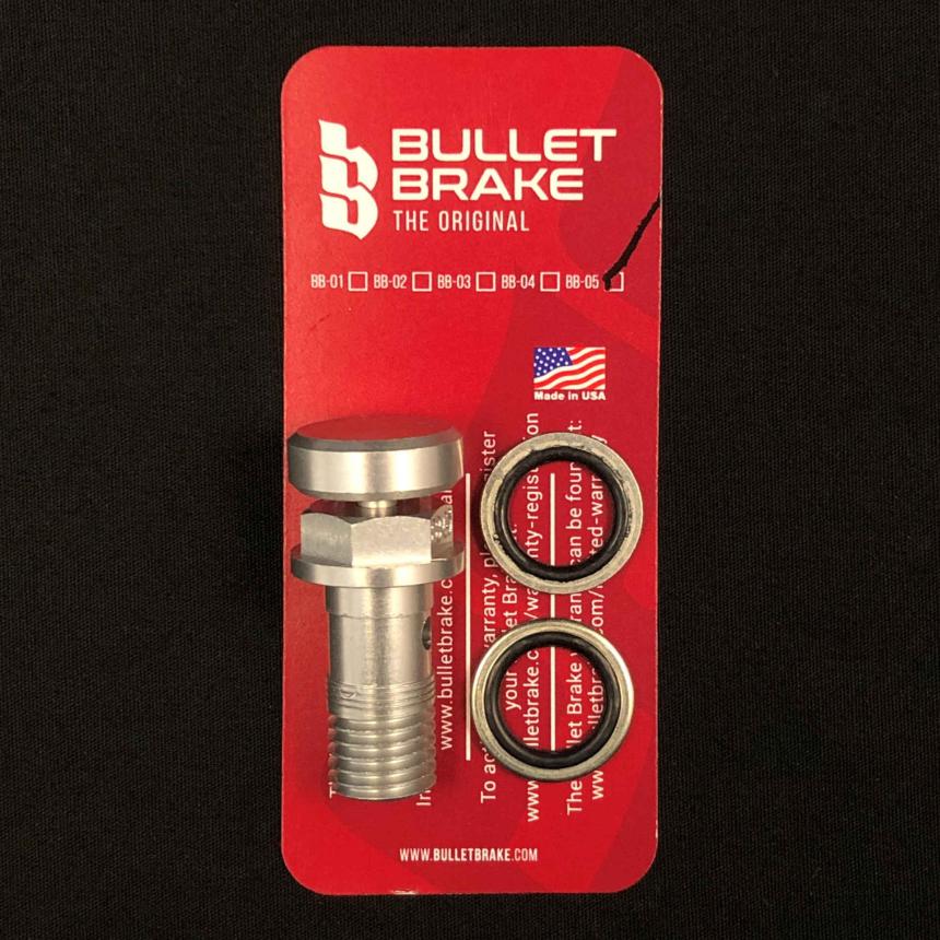 BulletBrake - silber, Normalgewinde (10 x 1.25 mm)