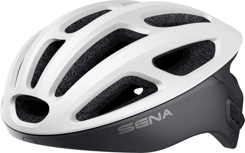 R1 Smart Cycling Helm - Matt White (L)
