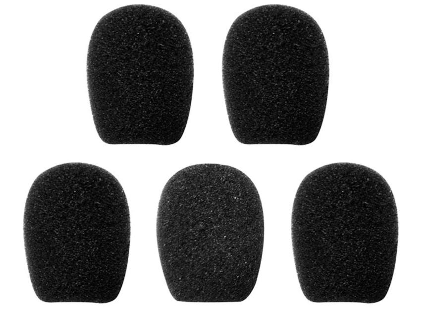 Mikrofon-Schwämme (Beutel à 5 Stk.)