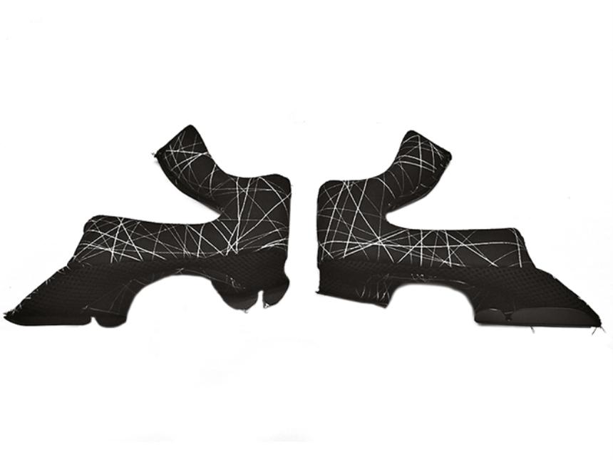 Airoh - TWIST - Backenfutter grau (M)