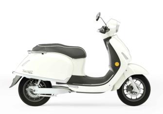 Kumpan Electric - Modell 54 ICONIC (4 kW / 45 km/h) - MAGNOLIA WEISS