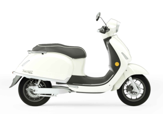 Kumpan Electric - Modell 54 INSPIRE (3 kW / 45 km/h) - MAGNOLIA WEISS