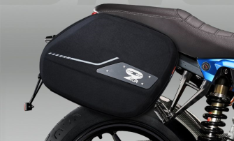SIDE BAGS AND ENERGICA RACK KIT - GREY