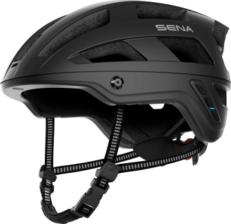M1 EVO Smart Mountainbike Helm - Matt Black (L)