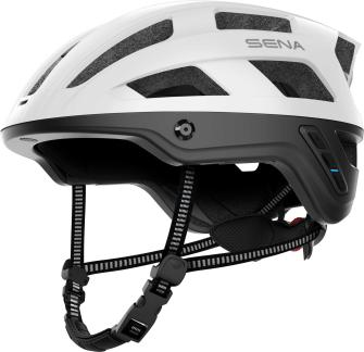 M1 EVO Smart Mountainbike Helm - Matt White (L)