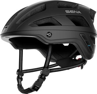 M1 Smart Mountainbike Helm - Matt Black (L)