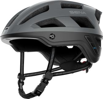 M1 Smart Mountainbike Helm - Matt Grey (L)