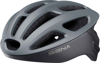 R1 Smart Cycling Helm - Matt Grey (L)