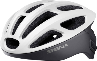 R1 Smart Cycling Helm - Matt White (M)