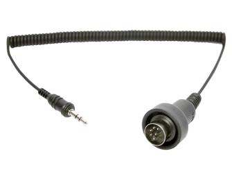 SM10 - 3.5mm Stereokabel auf 6-Pin DIN Stecker