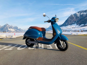 Kumpan Electric 54 IGNITE (100 km/h) - AZUR BLUE