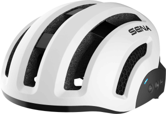 X1 Smart Cycling Helm - weiss (L)