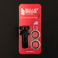 BulletBrake - schwarz, Normalgewinde (10 x 1.25 mm)