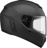 MOMENTUM EVO - Smart Motorrad-Integralhelm (ECE) - schwarz matt (M)