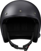 SAVAGE - Smart Motorrad-Jethelm (ECE) - schwarz matt (M)