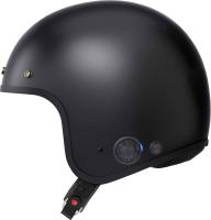 SAVAGE - Smart Motorrad-Jethelm (ECE) - schwarz matt (XL)