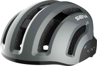 X1 Smart Cycling Helm - grau (L)
